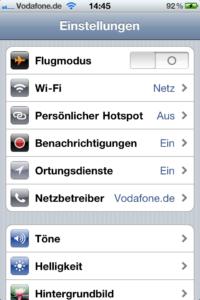 Tutorial: Das iPhone als Hotspot nutzen