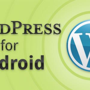 WordPress für Android mit neuem Layout