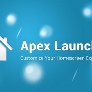 Apex Launcher - Frischer Wind auf deinem ICS Gerät