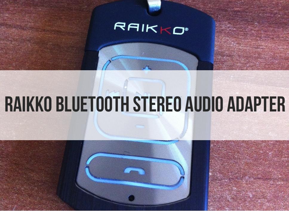 raikko bluetooth stereo audio adapter f r den kabellosen. Black Bedroom Furniture Sets. Home Design Ideas