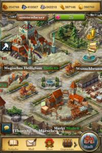 Aufbauspiel im Mittelalter - King´s Empire für iOS