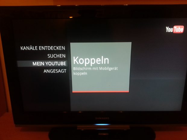 YouTube Remote - Der Name ist hier Programm