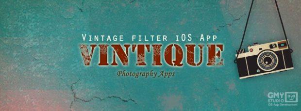 Vintique - Retro-Fotos mit einem Klick erstellen
