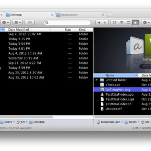 Mac OSX App-Tipp: XtraFinder - Den Finder um Tabs und viele weitere Funktionen erweitern