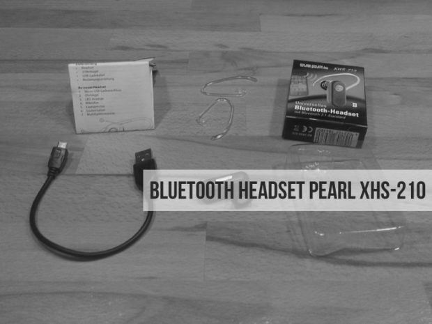 Bluetooth Headset Pearl XHS-210 im Test