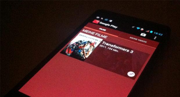 Das Motorola RAZRi als Mediaplayer