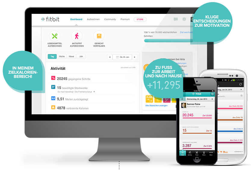 fitbitwebseite