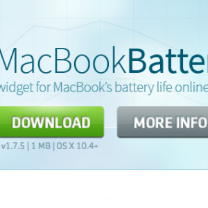 MacBook Battery Database - Ein Dienst der Akkudaten sammelt und auswertet