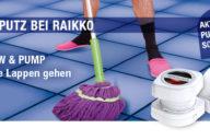 #MusikFriday Gewinnspiel - 5 Raikko PUMP & 5 Screw Vacuum Speaker für euch!