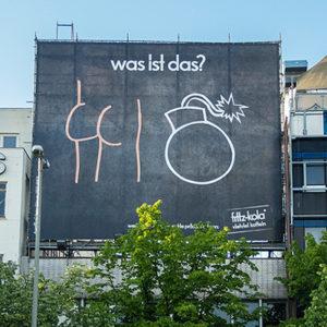 Rätselspaß mit Fritz Kola - Werbung wie sie sein muss!