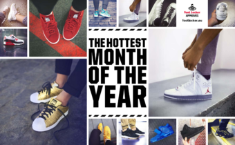 Foot Locker präsentiert den Hottest Month Of The Year