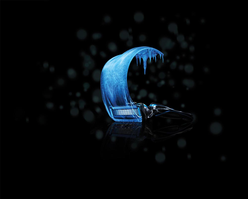 Gillette ProShield Chill_Ice Swoosh
