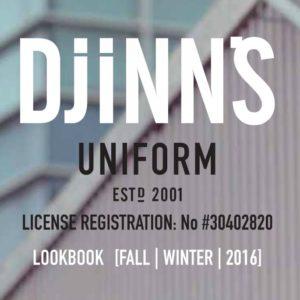 DJINNS Lookbook Fall/Winter 2016